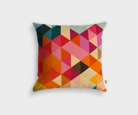 CUBICOLOR design cushion cover