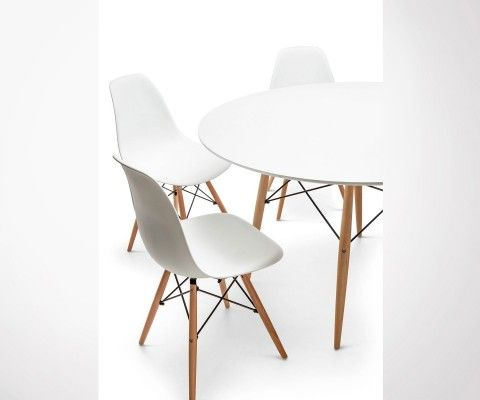 Scandinavian design dining table 4 persons