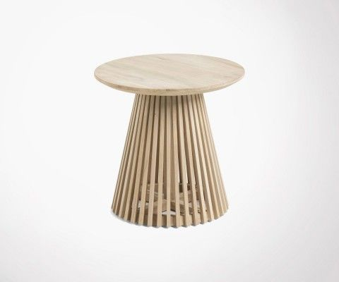 Teak side table 50cm JEANETTE