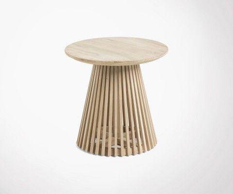 Teak side table 50cm JEANETTE