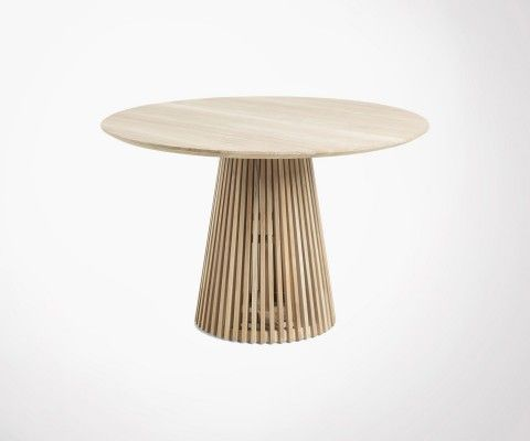 Teak dining table 120cm JEANETTE