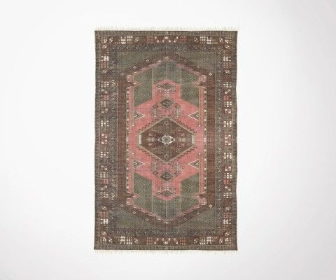 Oriental rug TULZIN faded cotton 120x180cm - HK Living