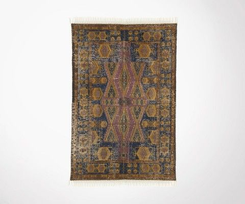 Tapis d'orient GAJYNA coton délavé 120x180cm - HK Living