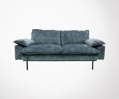 2 seater velvet sofa AFFAL - HK Living