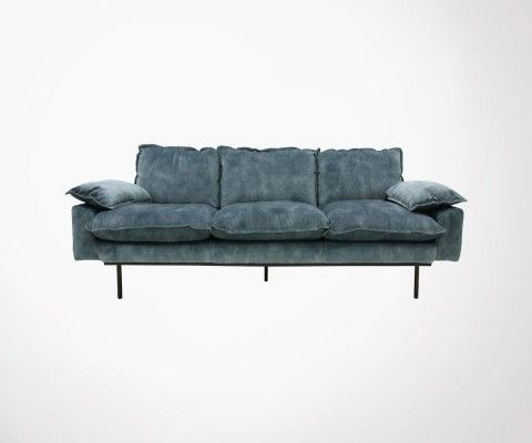 3 seater velvet sofa AFFAL - HK Living