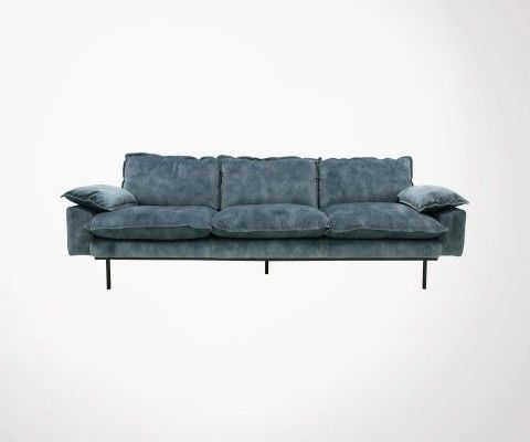 4 seater velvet sofa AFFAL - HK Living