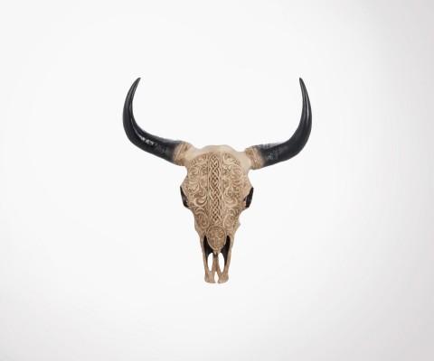 Buffalo head 45cm bohemian style SKULL
