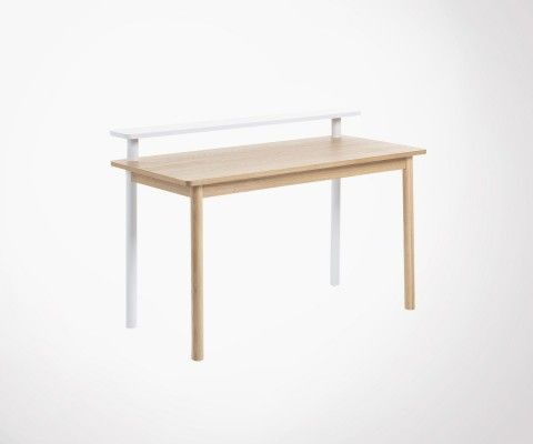 Design desk ash wood 120cm JESS