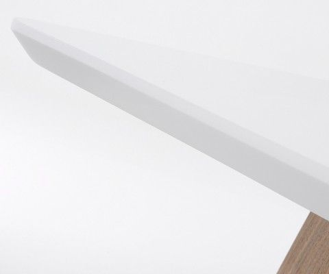 Grande table extensible 160-260cm bois style moderne MARSEILLE