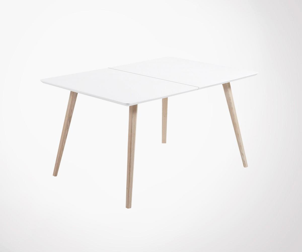 Table À Manger Nordique table extensible 160-260cm style scandinave qualité soignée