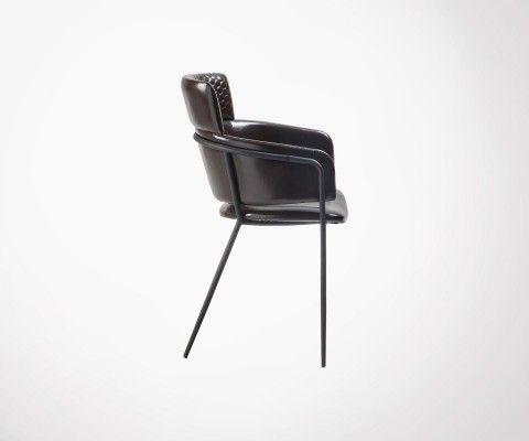 Chaise REINA bras métal