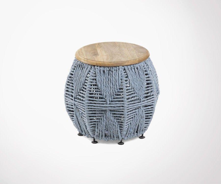 Table d'appoint bois manguier LOUKA