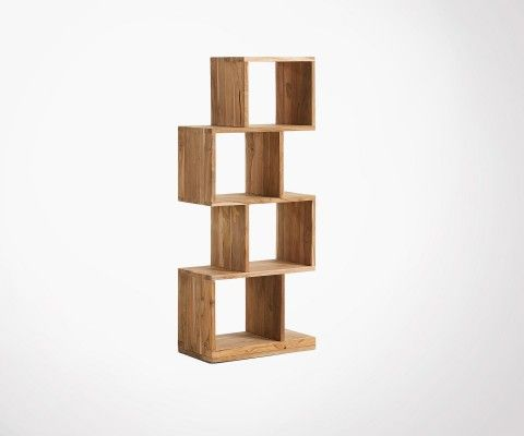 Nestled shelf 132cm teak wood TECKMOON