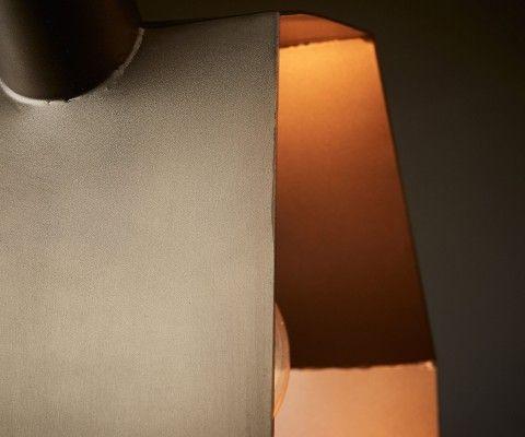 Lampe suspension métal laiton WISPER