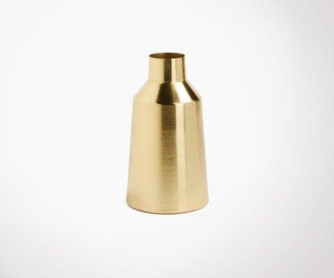 Vase doré laiton CALOR