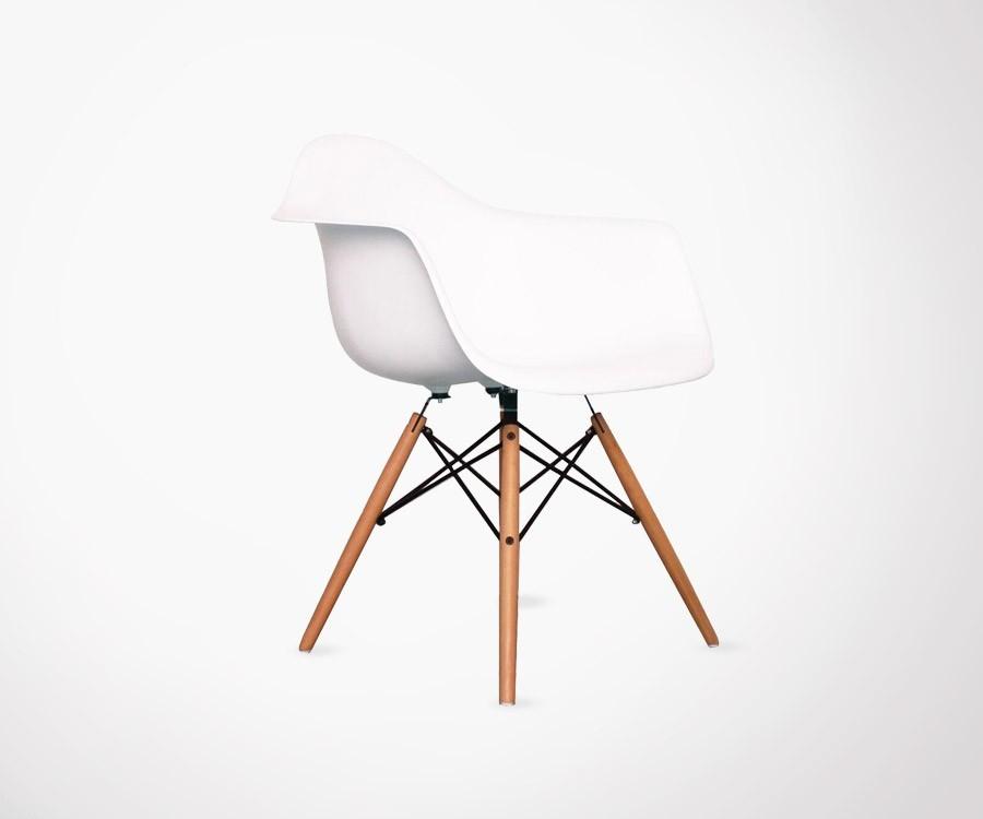 Fauteuil inspir de la chaise daw de c eames - Fauteuil charles eames prix ...