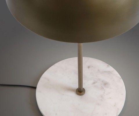 Lampe de chevet laiton et marbre LOLY