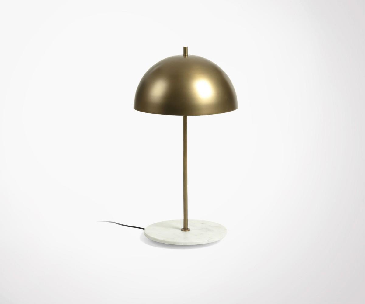 lampe de chevet laiton marbre style art d co nouvelle. Black Bedroom Furniture Sets. Home Design Ideas