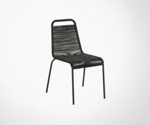 Design rope garden chair POKA