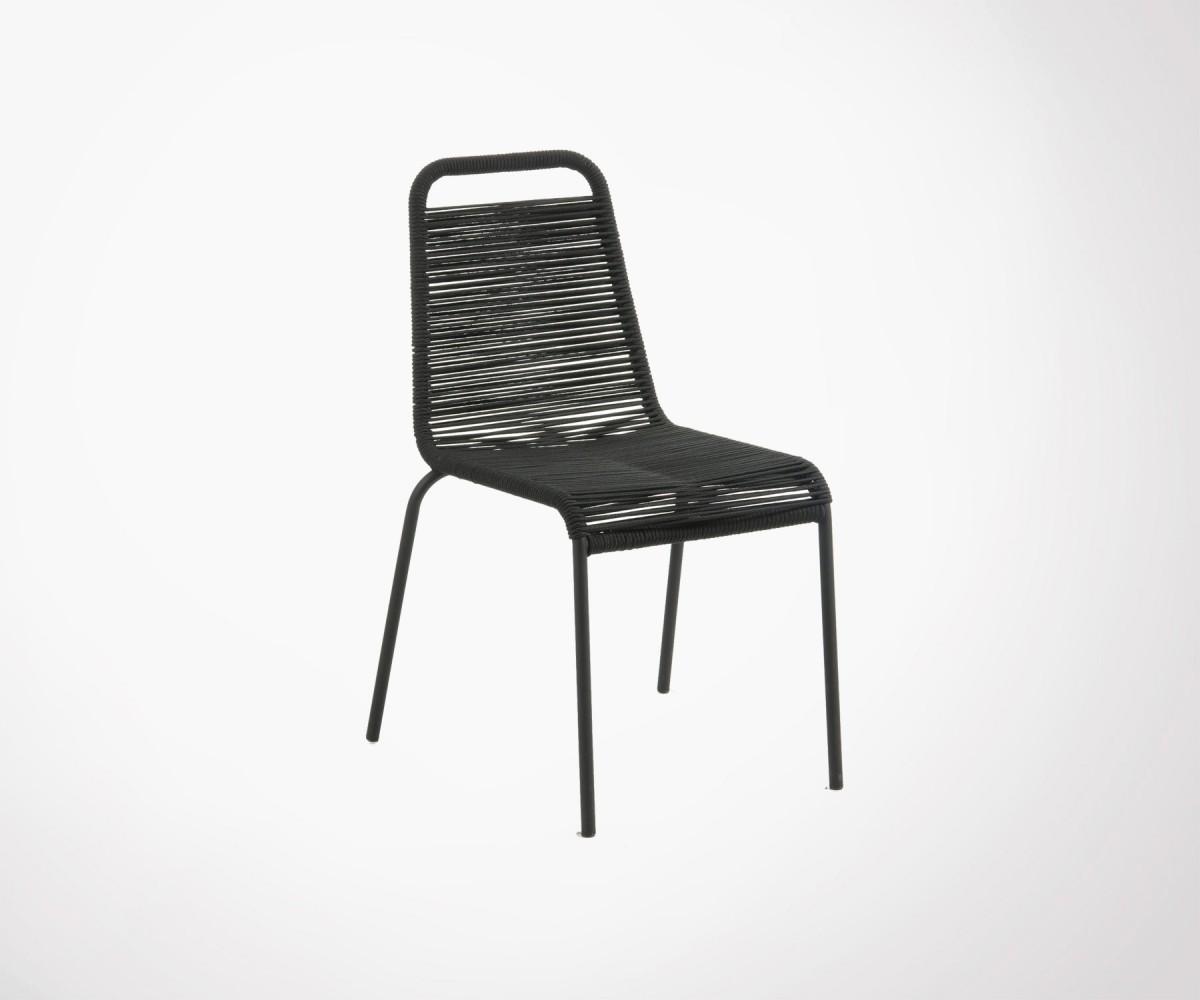 Couleurs 74€ En Chaise Design De Jardin 3 Corde Tressée ...