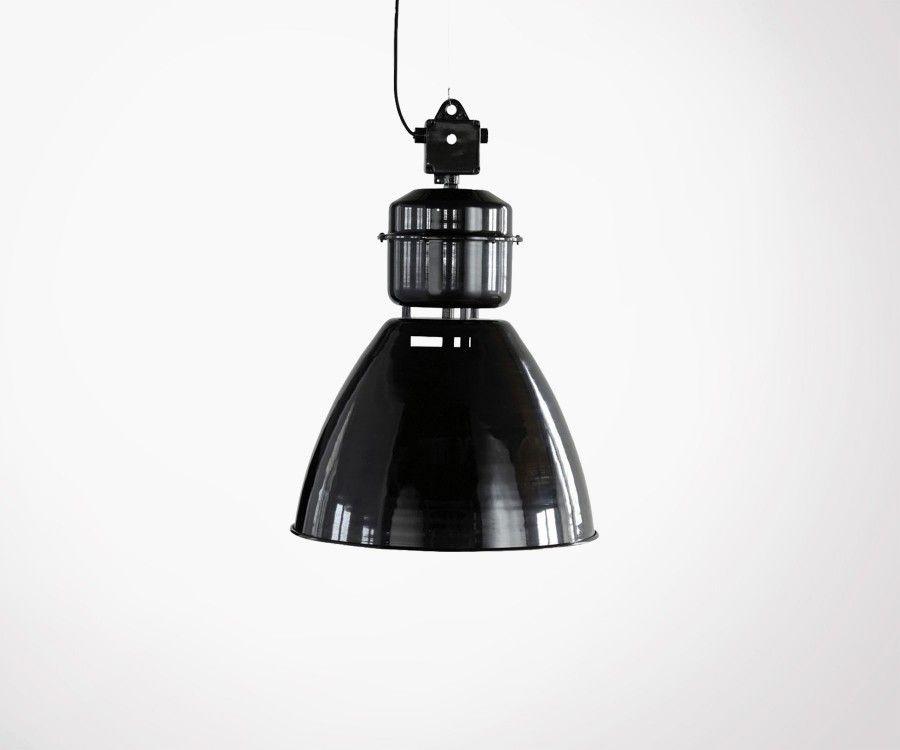 Suspension métal noir style industriel VOLUMEN - House Doctor