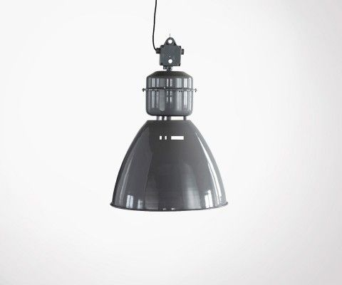 Gray metal pendant lamp VOLUMEN - House Doctor
