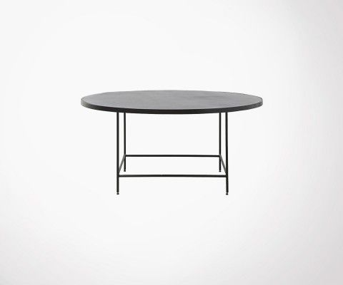 Table basse ronde 100cm aluminium BALANCE - House Doctor
