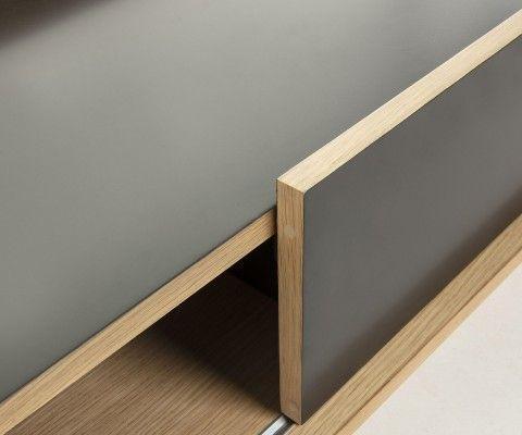 Meuble TV design moderne 140cm LIGY