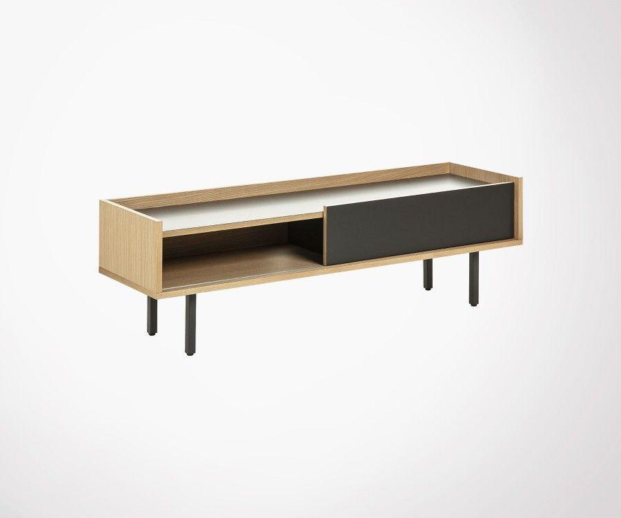 Modern Design 140cm Tv Cabinet Made Of Solid Oak Best Online Price