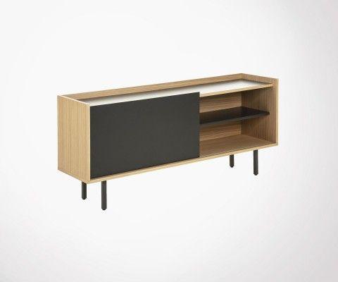 Low sideboard modern style 155cm LIGY