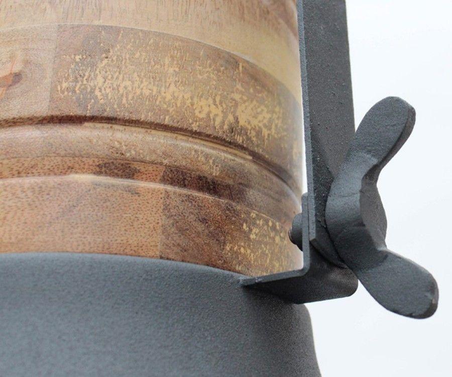 Suspension grille métal et bois GRID - Label 51