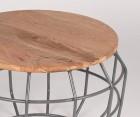 Table d'appoint bois et métal PIXEL L - Label 51