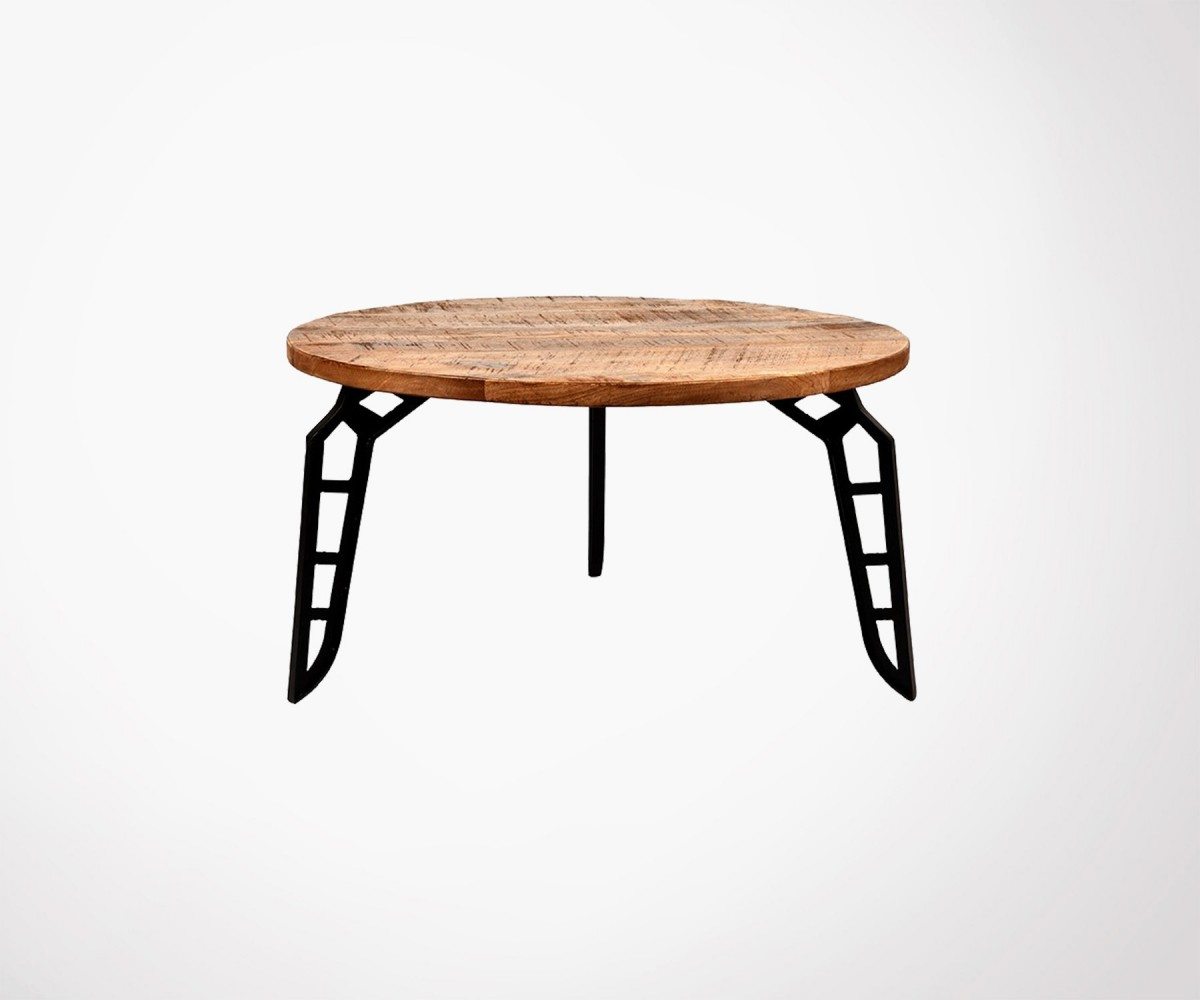 Solid Wood Metal Design Coffee Table By Label 51 Best Online Deal