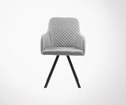 Fauteuil design tapissé TIGO - Label 51