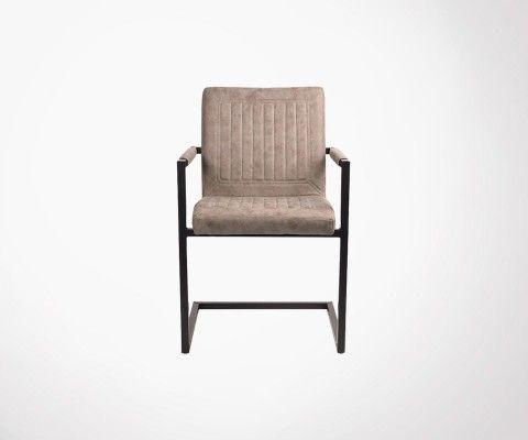 Chaise rétro avec accoudoirs ROSSI - Label 51