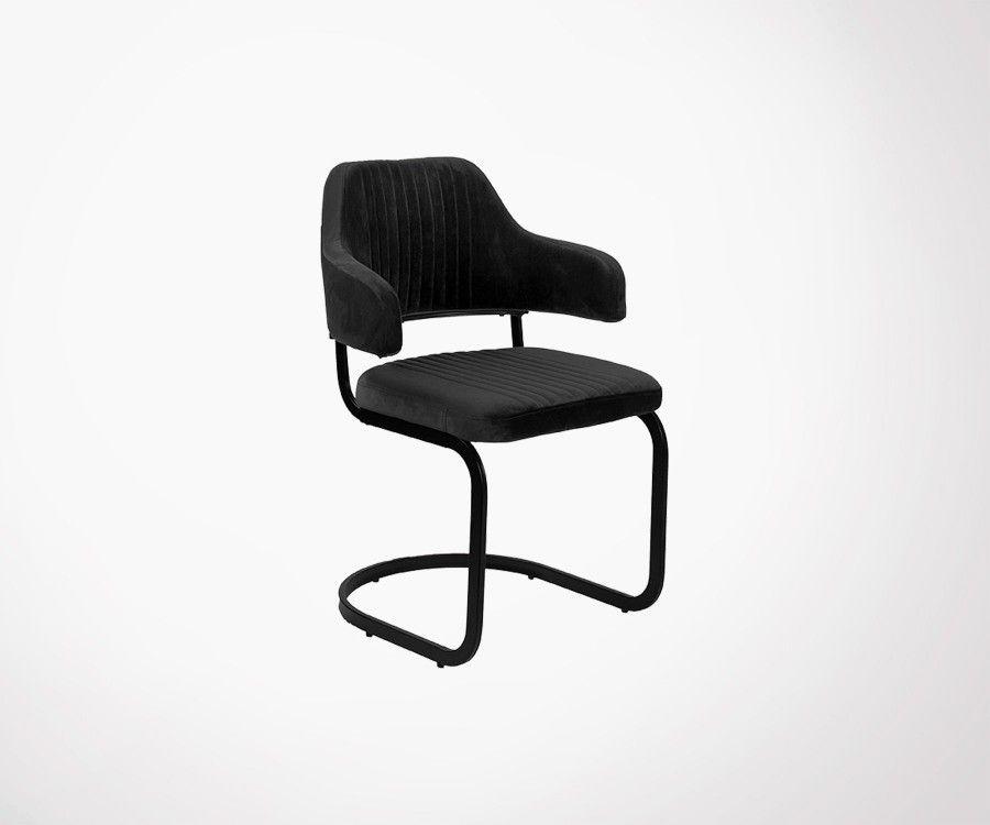 Chaise vintage microfibres OTTA - Label 51