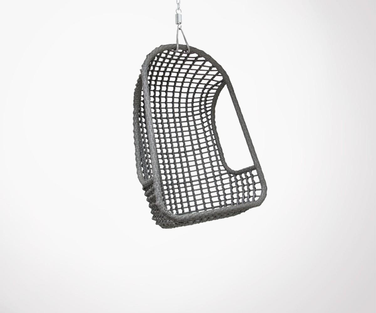 fauteuil suspendu ext rieur design en rotin v ritable hk living. Black Bedroom Furniture Sets. Home Design Ideas