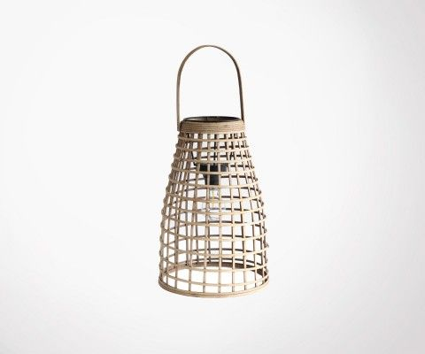 Rattan decorative lantern MALANG - Red Cartel