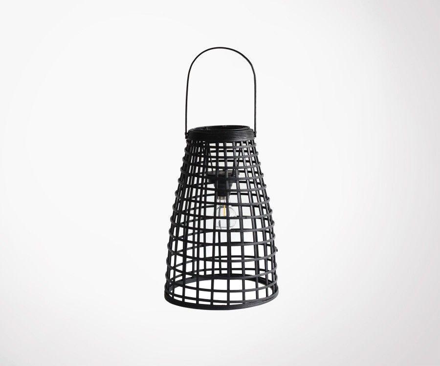 Lanterne décorative rotin MALANG - Red Cartel