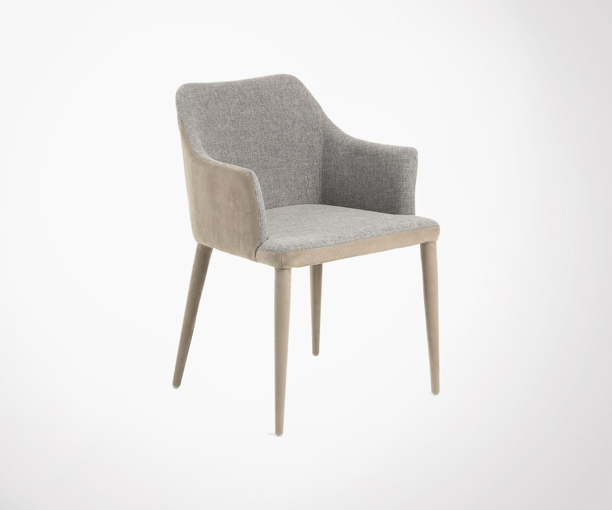 Fabric Dining Chair With Armrests 3 Colors Best New Design
