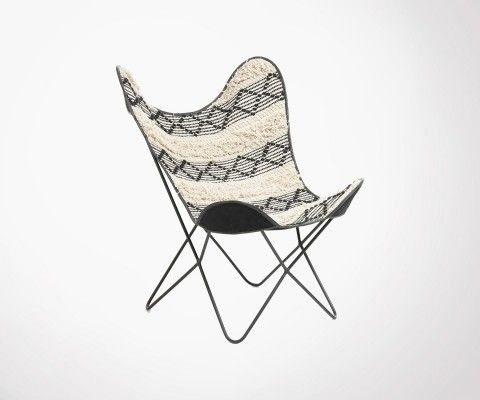 Bohemian butterfly chair HISIGOR