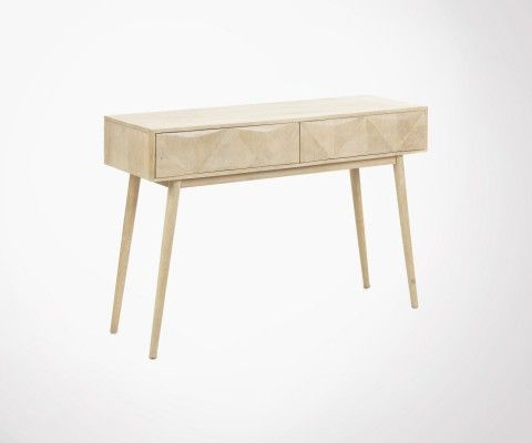Entrance console mango wood DESERTA
