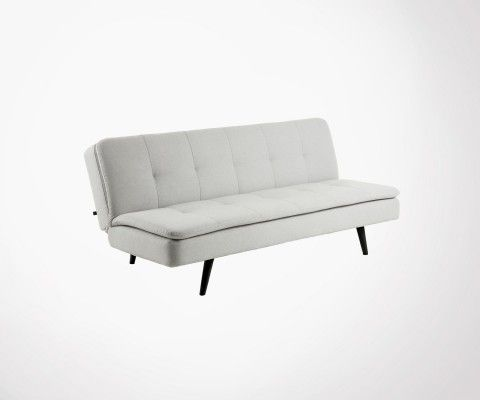 Modern sofa bed 180cm fabric GALILEO