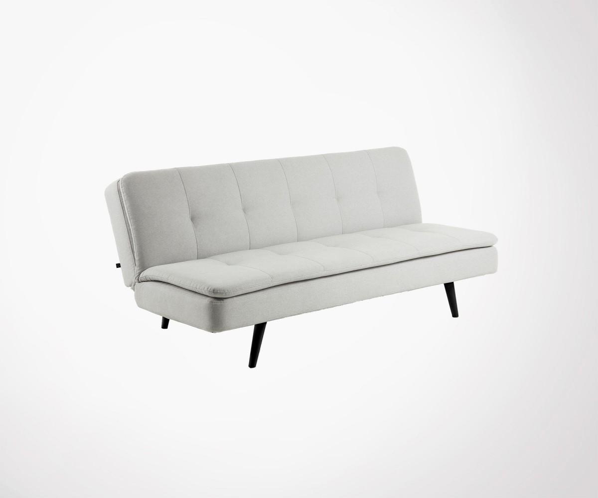Photo De Canape Moderne canapé lit moderne tissu style moderne - 2 couleurs en stock
