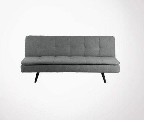 Canapé lit moderne 180cm tissu GALILEO