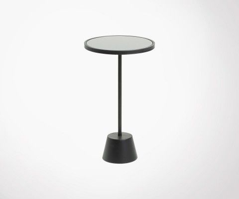 Petite table d'appoint ronde MORTAMER