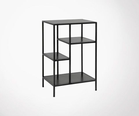 Small industrial design metal shelf RACKA - Nordal