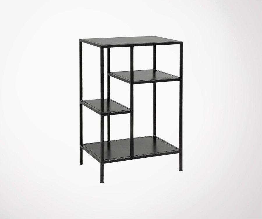 Petite étagère métallique design industriel RACKA - Nordal