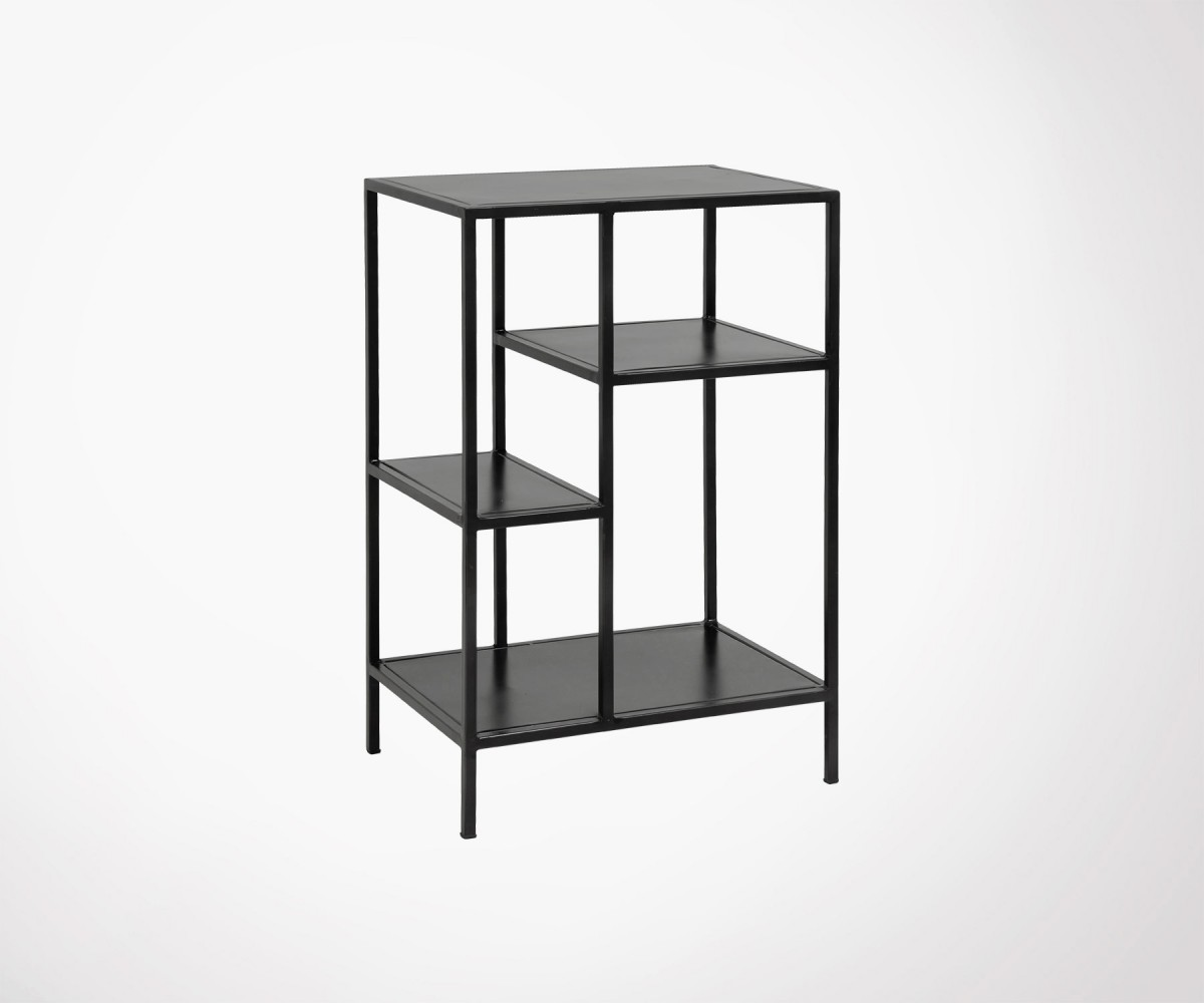 Petite étagère métallique design industriel racka nordal loading zoom