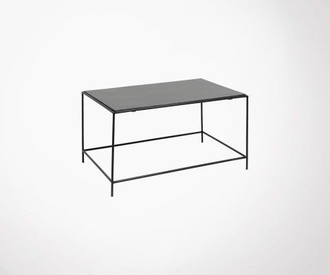 Grande table basse métal et granite TIMELESS - Nordal